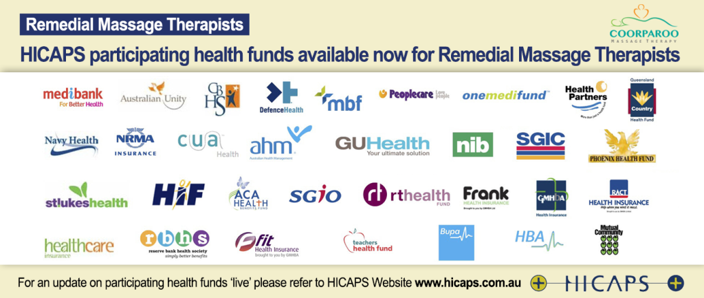 Private health fund rabate through the Hicaps