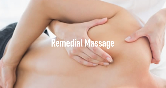 Remedial massage provides a healing treatment for damaged soft tissue. Remedial massage is highly recommended for the Neck, Shoulder, Back, Low Back Pain, Frozen Shoulder, Muscle Soreness, Sports Injury and Headaches.